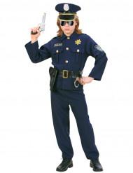 Déguisement policier bleu marine garçon