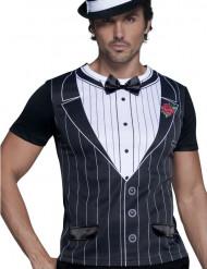 Déguisement gangster charleston t-shirt homme