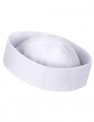 Chapeau marin blanc adulte
