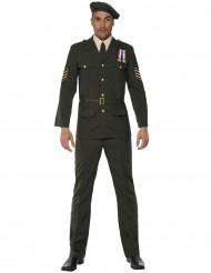 Déguisement officier militaire homme