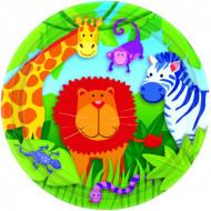 8 Assiettes jungle