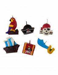 6 Bougies pirate