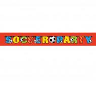 Bannière Soccer Party
