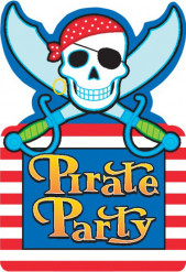 Invitations pirate