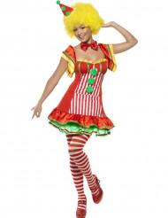 Déguisement clown joyeux femme