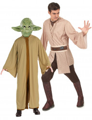 Déguisement couple Maître Yoda et Jedi Star Wars™