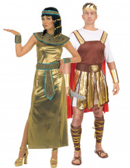 Déguisement couple Cléopatre et empereur romain