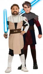 Déguisement duo Anakin Skywalker et Obi wan Kenobi Star Wars™ enfants