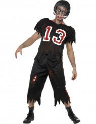 Déguisement zombie footballeur américain homme Halloween