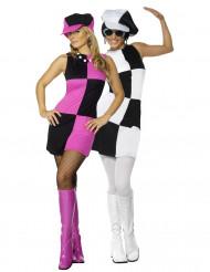 Déguisements de couple de disco femmes