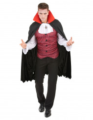 Déguisement vampire homme Halloween 100% polyester