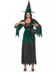 Déguisement sorcière gothique femme Halloween