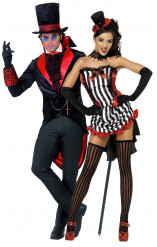 Déguisements couple vampires Halloween