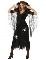 Déguisement sorcière araignée femme