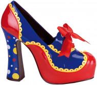 Chaussures clown femme