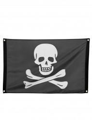 Drapeau pirate avec oeillets