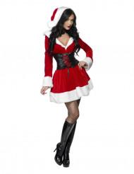 Déguisement Mère Noël corset femme
