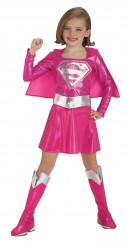 Déguisement Supergirl™ rose fille