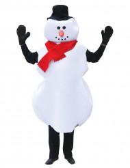 Déguisement bonhomme de neige adulte Noël