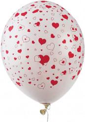 50 Ballons coeurs