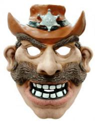 Masque cowboy adulte