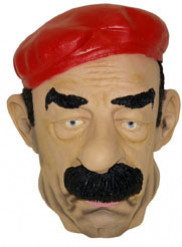 Masque Saddam Hussein