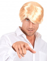 Perruque de playboy blond
