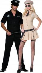 Déguisement couple policier