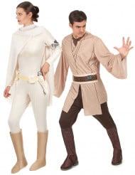 Déguisement de couple Jedi et Amidala Star wars™