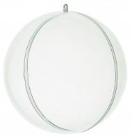 Boule de décoration transparente