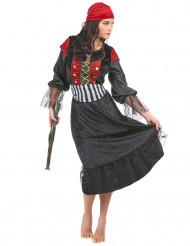 Déguisement pirate robe longue femme