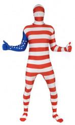 Déguisement  Morphsuits™ Etats-Unis adulte