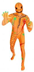 Déguisement morphsuits™ adulte citrouille