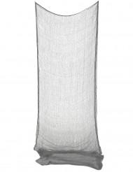 Décoration drap gris Halloween 75 x 150 cm