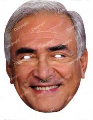 Masque carton Dominique Strauss Kahn