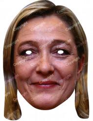 Masque carton Marine Le Pen