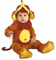 Déguisement singe avec sa banane bébé