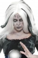 Perruque voyante blanche femme