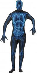 Déguisement seconde peau rayon X adulte