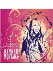 20 Serviettes en papier Hannah Montana™ 33 x 33 cm