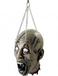Décoration tête suspendue Halloween
