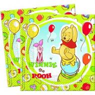 20 Serviettes en papier Winnie l