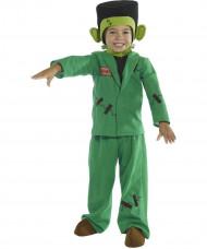 Déguisement monstre vert enfant Halloween