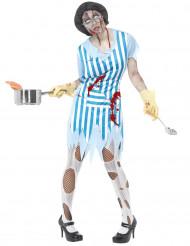 Déguisement cuisinière zombie adulte Halloween