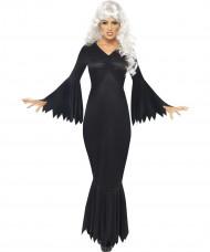 Déguisement vampire noire femme Halloween