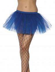 Tutu bleu foncé femme