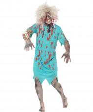 Déguisement patient zombie adulte Halloween