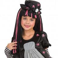Perruque Black Dolly enfant