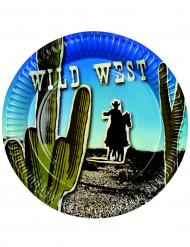 Assiettes western