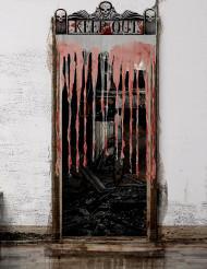 Rideau de porte Halloween 150 x 95 cm